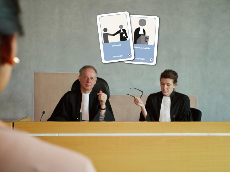 kaartset rechtbank basistool strafrechtketen